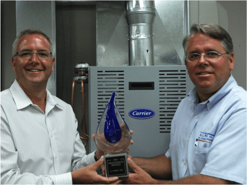 A.J. Perri Receives Carrier Corp.'s Coveted President's Award for 2011