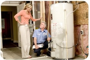 A.J. Perri Plumbing Water Heater Traditional