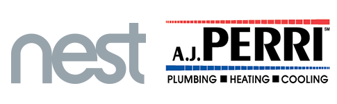 nest and a.j. perri logos