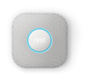 A NEST Protect Smoke Alarm unit