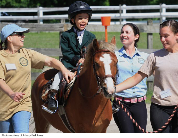 THERAPY HORSE FARM WORKS LIKE A CHARM TO HELP DISABLED CHILDREN