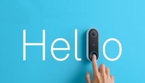 NEST Hello with finter pressing button