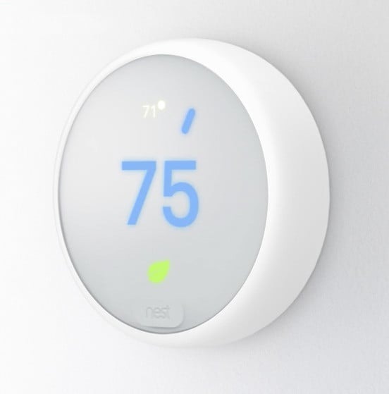 A NEST Thermostat E unit