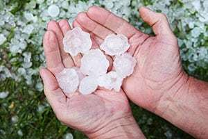 How Hail Can Damage Your AC and What to Do