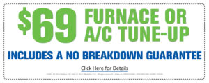 $69 furnace or AC tune-up