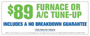 $89 furnace or AC tune-up