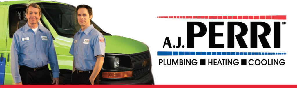 A.J. Perri landing page banner