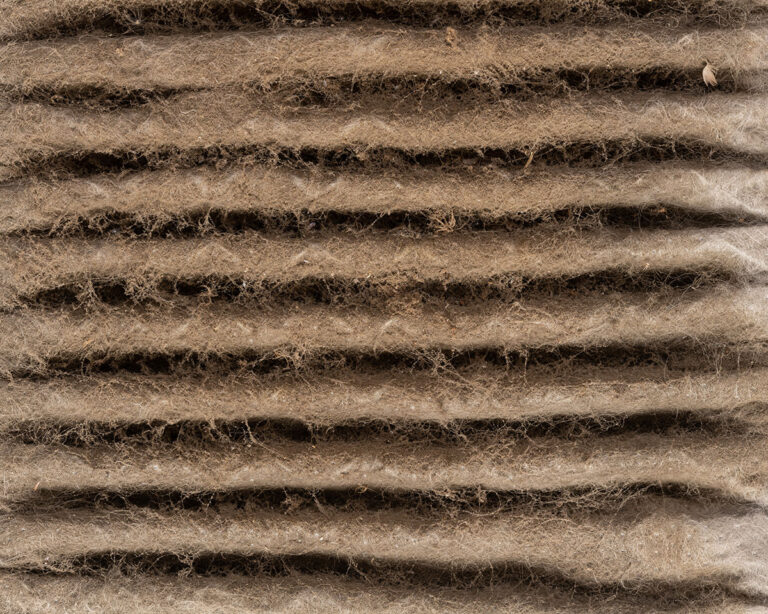 Very dirty air filter